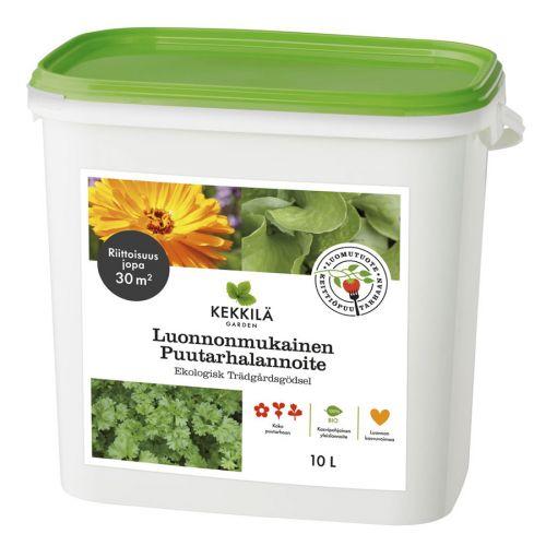 Kekkilä luonnonmukainen puutarhalannoite 10 L