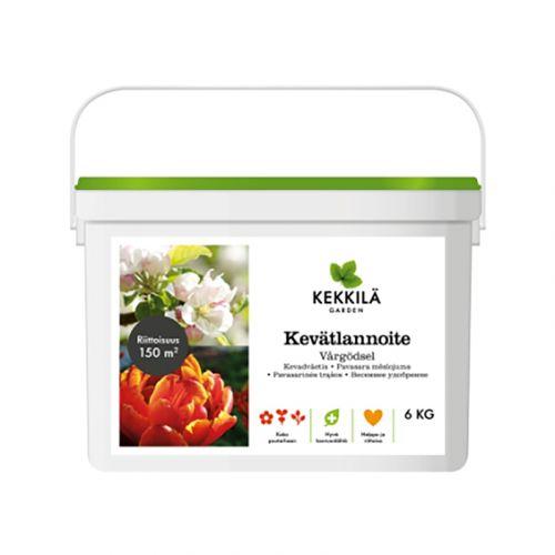 KEKKILÄ KEKKILÄ KEVÄTLANNOITE, PAKKI 6KG 6 KG