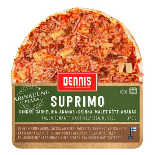 DENNIS PIZZA SUPRIMO  370 G
