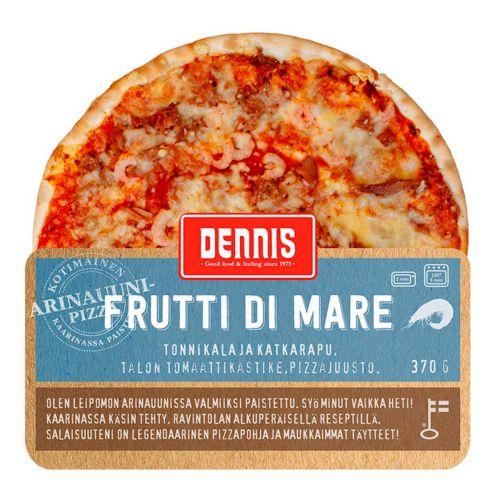 DENNIS PIZZA FRUTTI DI MARE  370 G