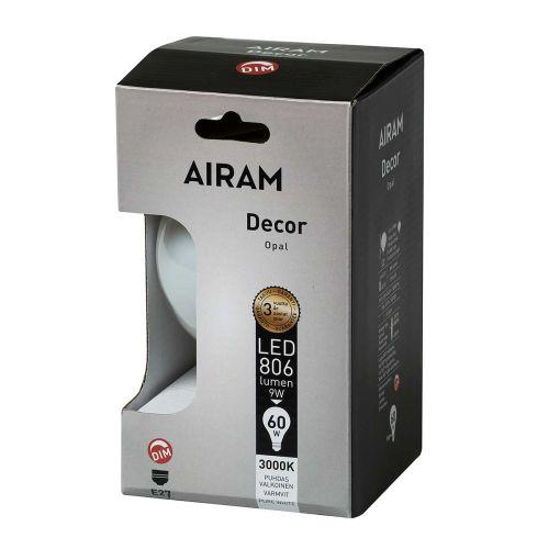 AIRAM AIRAM LED GLOBE 9W E27 POP-95 806LM, HIMMENTÄVÄ