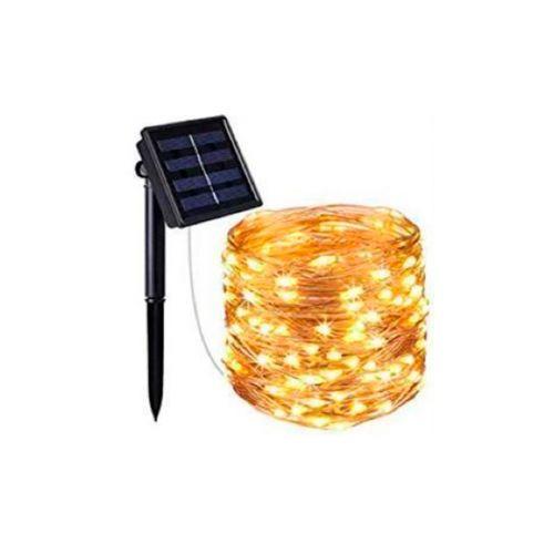 KILAU SOLAR LED-VALOLANKA, 100 LEDIÄ