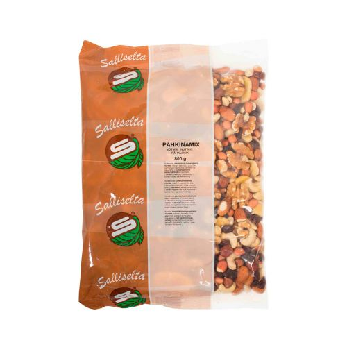 Sallinen pähkinämix sekoitus 800g