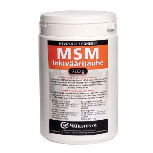 W MSM + Inkiväärijauhe 700g