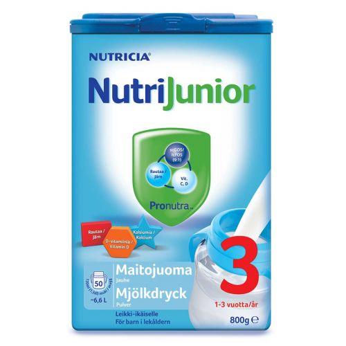 NUTRIJUNIOR NUTRIJUNIOR 3 1-3V 800 G