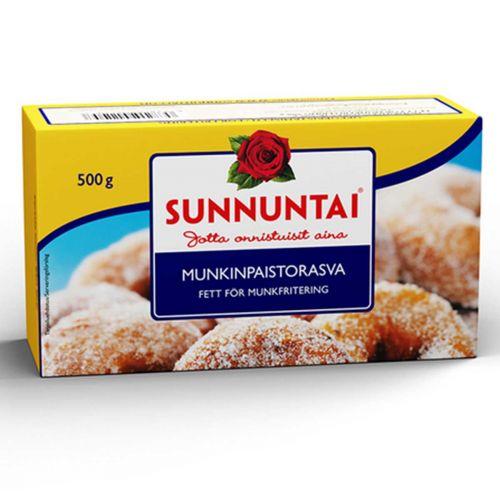SUNNUNTAI MUNKINPAISTORASVA 500 G
