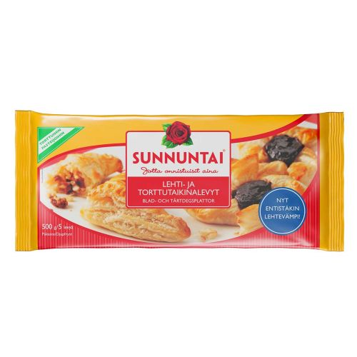SUNNUNTAI LEHTI-/TORTTUTAIKINA 500 G