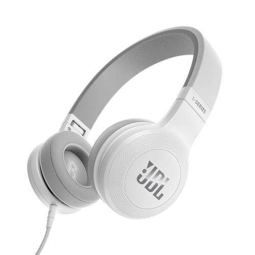 JBL E35, ON-EAR SANKAKUULOKKEET MIKROFONILLA, VALKOINEN