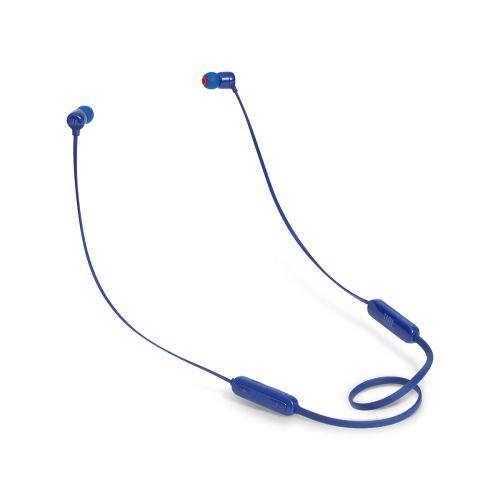 JBL T110BT Bluetooth nappikuulokkeet, sininen