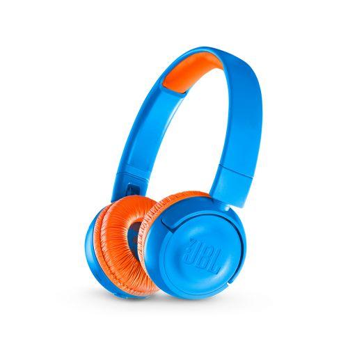 JBL JR300 Bluetooth sankakuulokkeet lapsille, sininen/oranssi