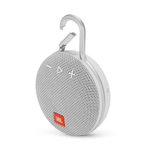 JBL CLIP 3 Bluetooth kaiutin, valkoinen