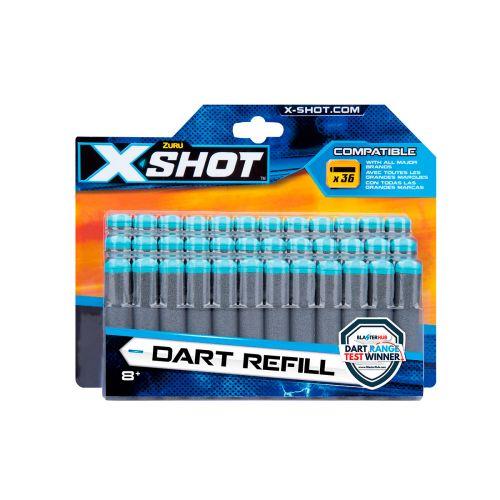 X-Shot Excel 36 Darts täyttöpakkaus