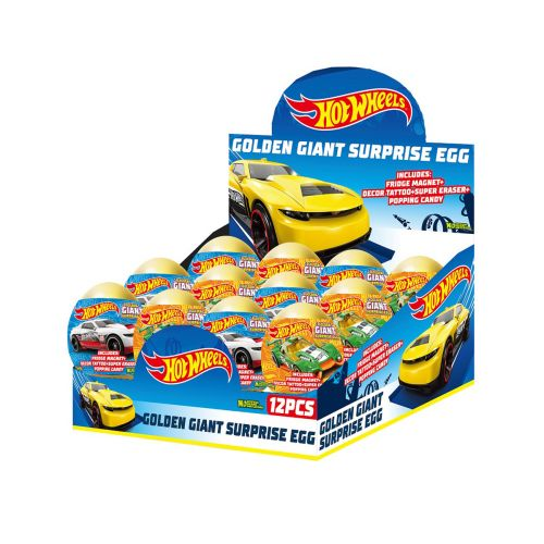 GIANT MAKEISYLLÄTYSMUNA HOT WHEELS 14 G