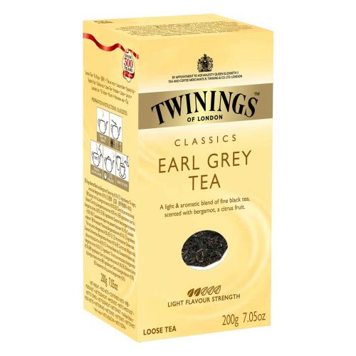 TWININGS EARL GREY IRTOTEE  200 G
