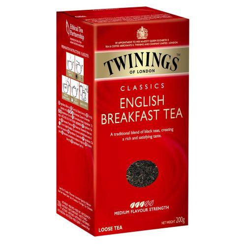 TWININGS ENGLISH BREAKFAST IRTOTEE 200 G