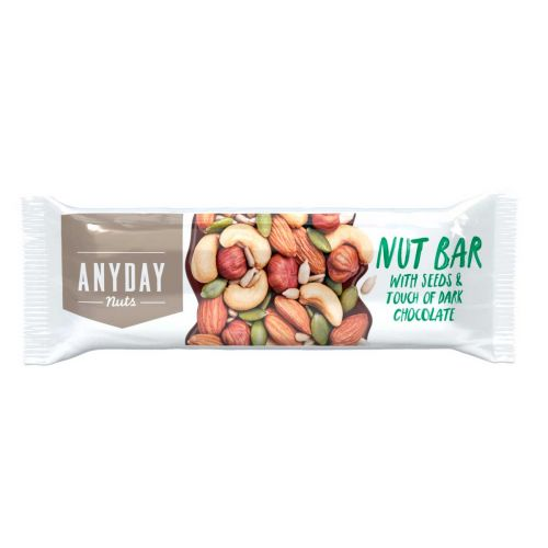 ANYDAY NUT BAR WITH SEEDS 40 G