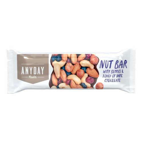 ANYDAY NUT BAR WITH BERRIES 44 G