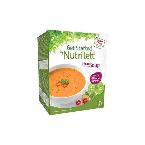 NUTRILETT SOUP 15KPL THAI RED CURRY 495 G