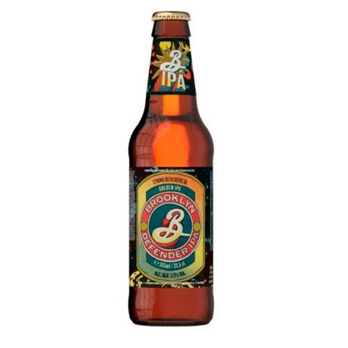 BROOKLYN DEFENDER IPA 5,5% KLP 355 ML