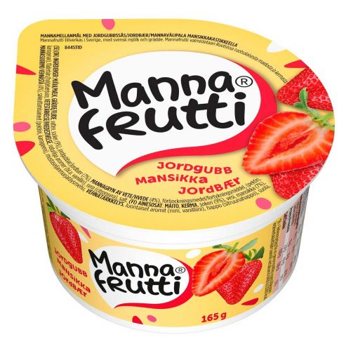MANNAFRUTTI MANSIKKA 165 G