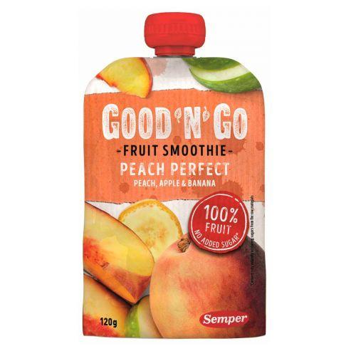 SEMPER GOOD'N'GO FRUIT SMOOTHIE PEACH PERFECT 120 G