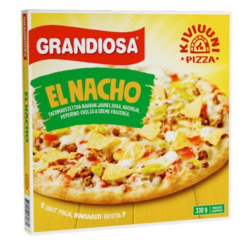 GRANDIOSA KIVIUUNIPIZZA EL NACHO 330 G