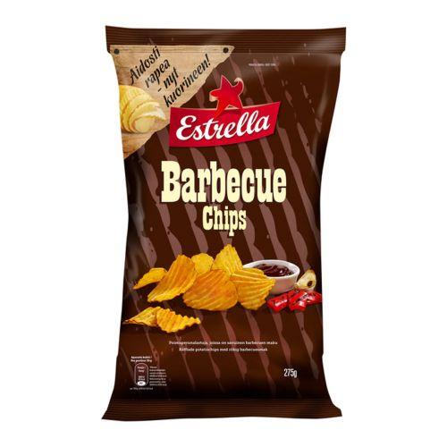 ESTRELLA BARBECUE CHIPS 275 G