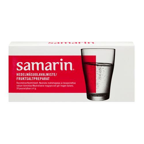 SAMARIN HEDELMÄSUOLA ORIGINAL 18 KPL 72 G