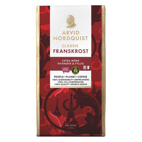 ARVID NORDQUIST FRANSKROST HYVIN  TUMMA PAAHTO 500 G
