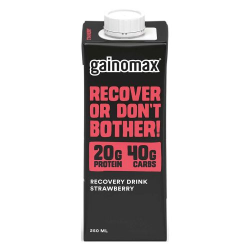 GAINOMAX RECOVERY DRINK STRAWBERRY 250 ML