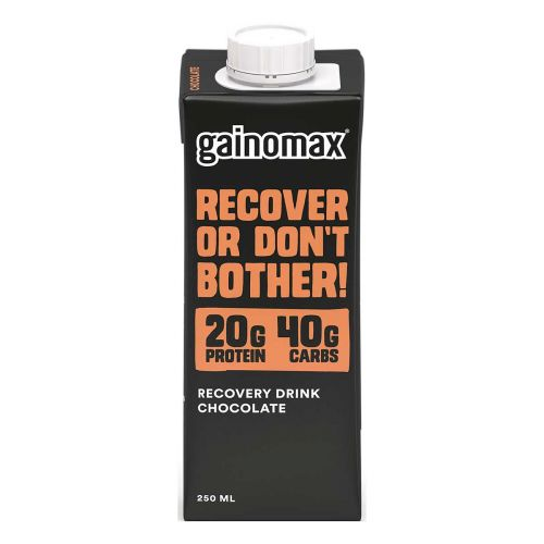 GAINOMAX RECOVERY DRINK CHOCOLATE 250 ML