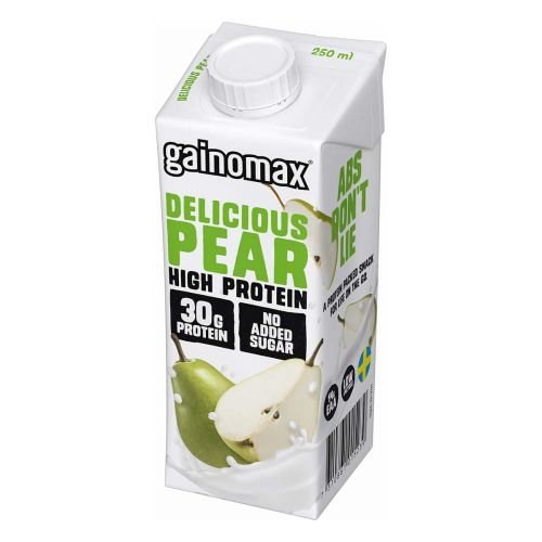 GAINOMAX HIGH PROTEIN DRINK DELICIOUS PEAR 250 ML