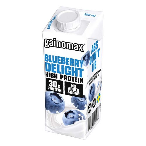 GAINOMAX HIGH PROTEIN DRINK BLUEBERRY DELIGHT 250 ML