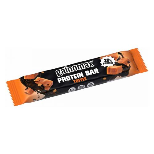 GAINOMAX PROTEIN BAR TOFFEE  60 G