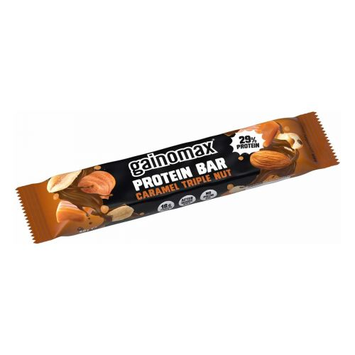 GAINOMAX PROTEIN BAR CARAMEL TRIPLE NUT 60 G