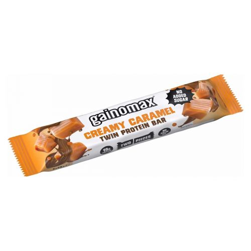 GAINOMAX TWIN PROTEIN BAR CREAMY CARAMEL 50 G