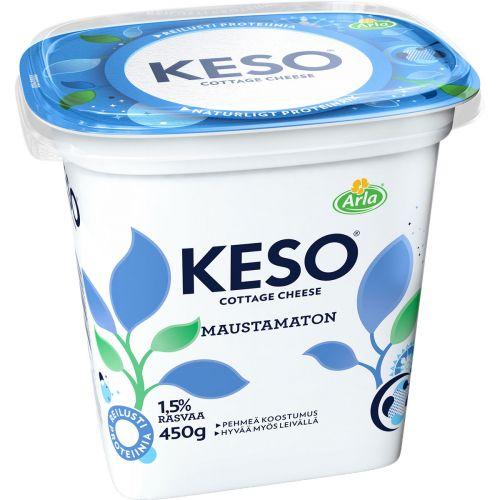 ARLA KESO MAUSTAMATON RAEJUUSTO 1,5% 450 G