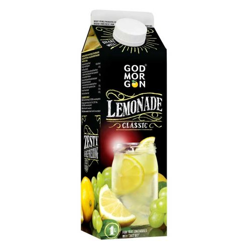 GOD MORGON INSPIRATION LEMONADE 1L