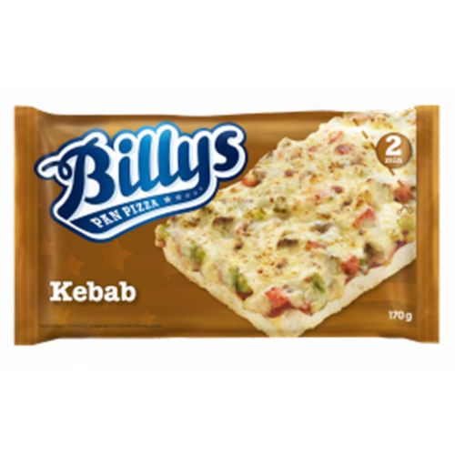 BILLY'S PAN PIZZA KEBAB  170 G