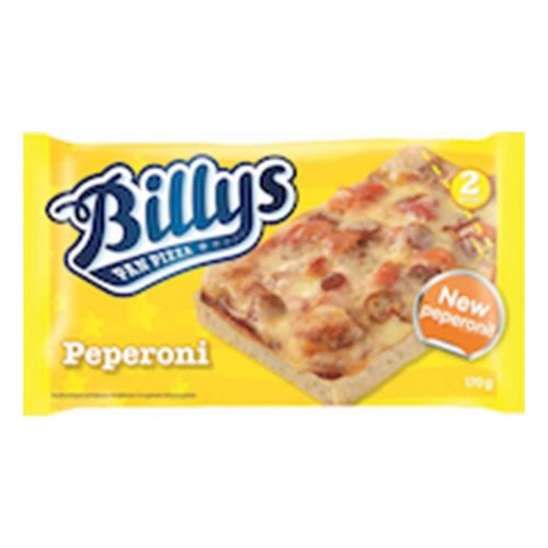 BILLY'S PAN PIZZA PEPPERONI 170 G