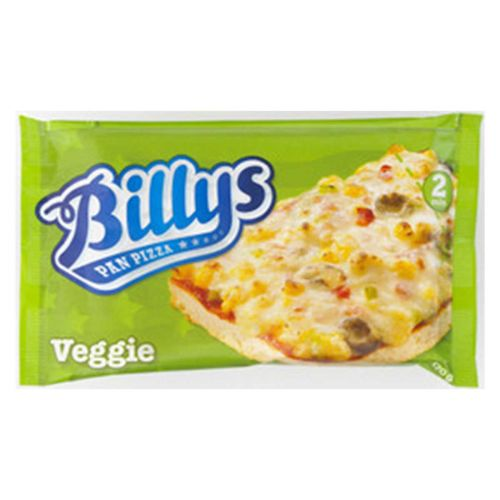 BILLY'S PAN PIZZA VEGGIE 170 G