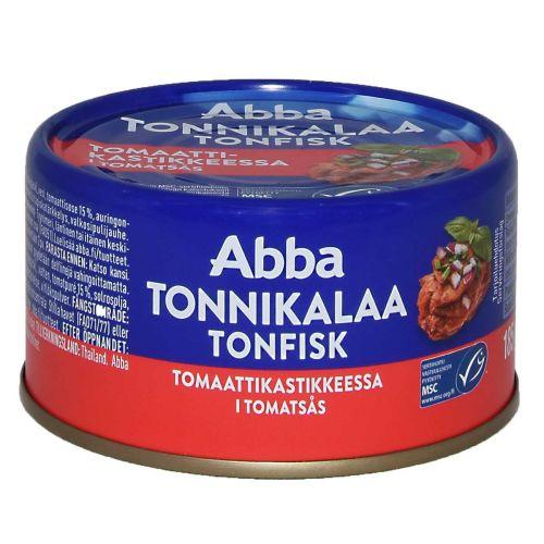 ABBA TONNIKALA TOMAATISSA 185 G