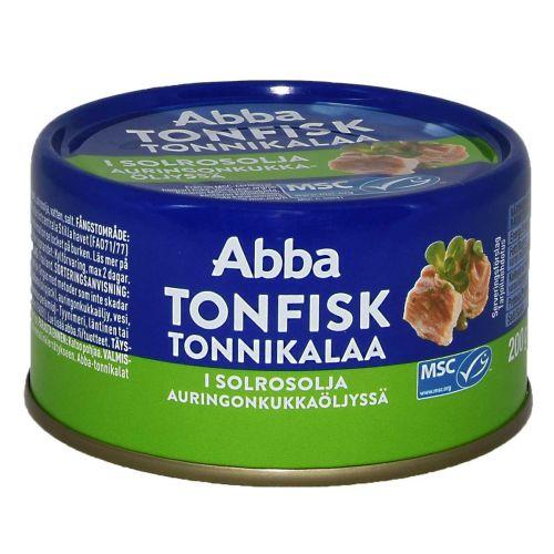 ABBA TONNIKALAA ÖLJYSSÄ 200/150G MSC 150 G
