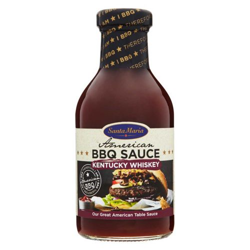 SANTA MARIA BBQ SAUCE KENTUCKY WHISKEY 470 G