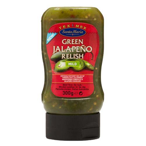 SANTA MARIA TEXMEX GREEN JALOPENO RELISH 300 G