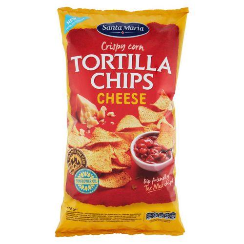 SANTA MARIA TEX MEX TORTILLA CHIPS CHEESE 475 G