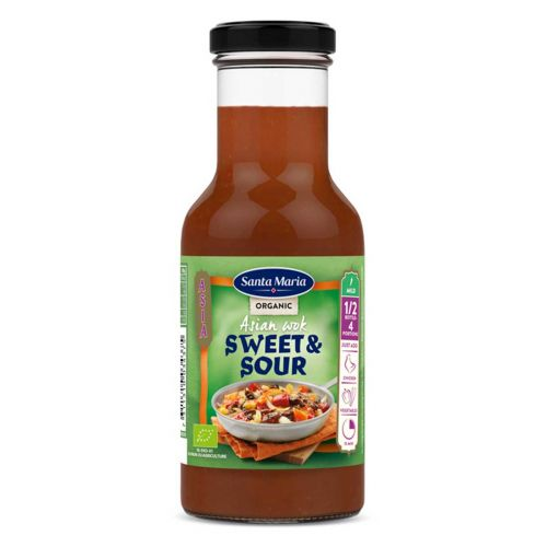 SANTA MARIA ASIAN WOK SWEET&SOUR LUOMU 250 ML