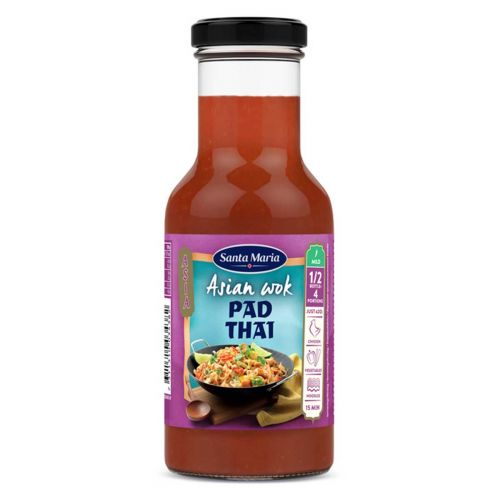 SANTA MARIA ASIAN WOK PAD THAI MAUSTEKASTIKE 250 ML
