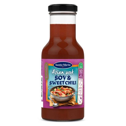 SANTA MARIA ASIAN WOK SOY&SWEET CHILI 250 ML