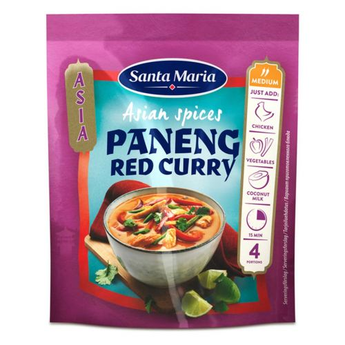 SANTA MARIA ASIAN SPICES PANENG REDCURRY 32G 32 G